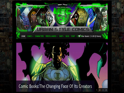 urbanstylecomics screenshot