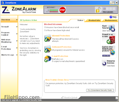 ZoneAlarm Free 11.0.768.000
