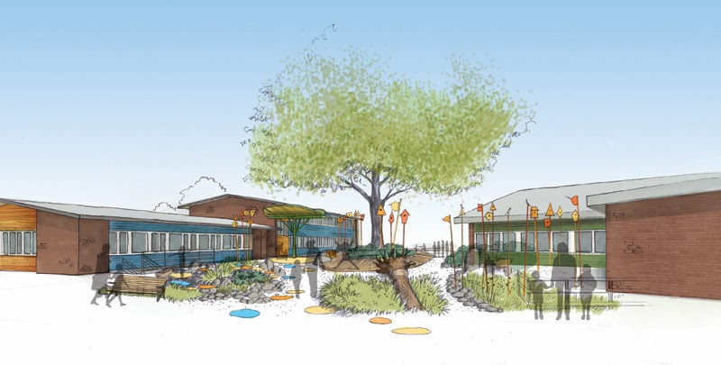 Neiman taber architects ryther campus renewal for Barker landscape architects