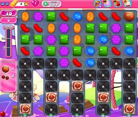 Candy Crush Saga 664