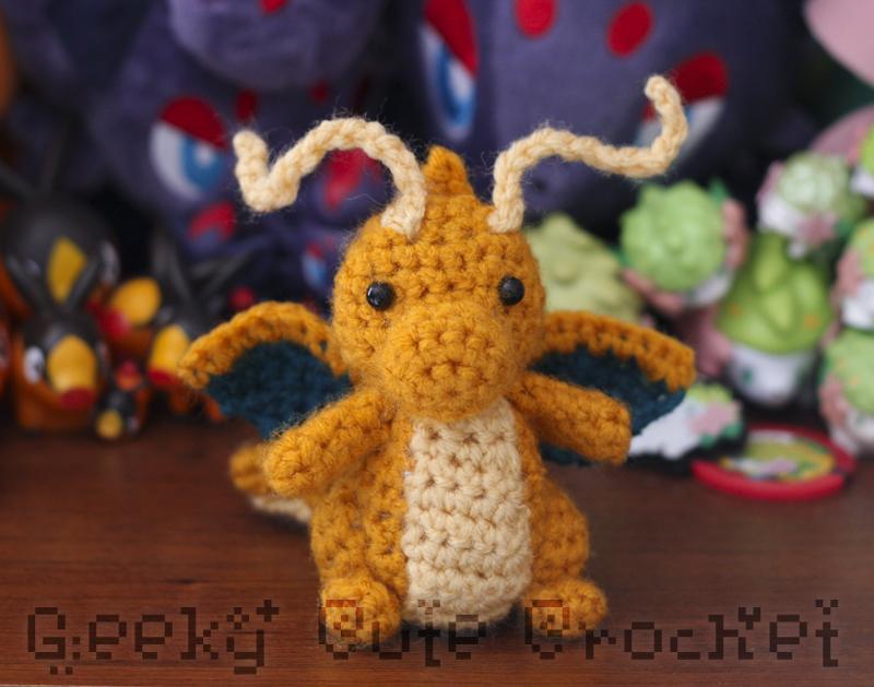 Amigurumi Patterns Tumblr : Geeky cute crochet pokemon amigurumi