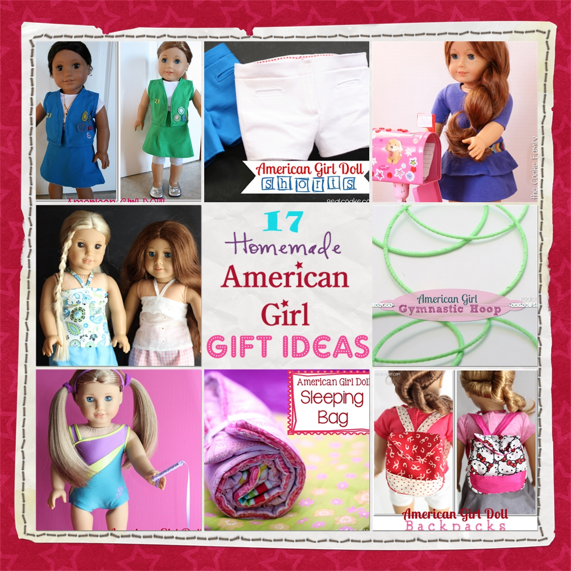 17 american girl doll homemade gift ideas the real thing