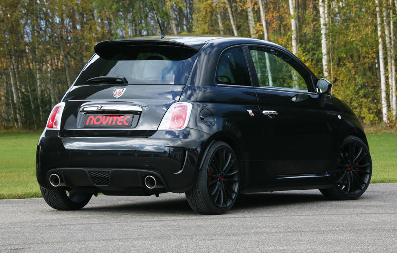Amanti Delle Supercar Novitec Fiat 500 Abarth Amazing
