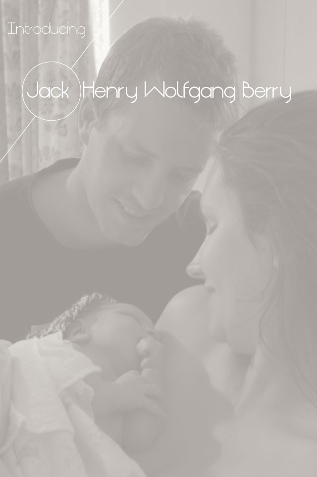 Introducing Jack… our newest addition to the Berry Family