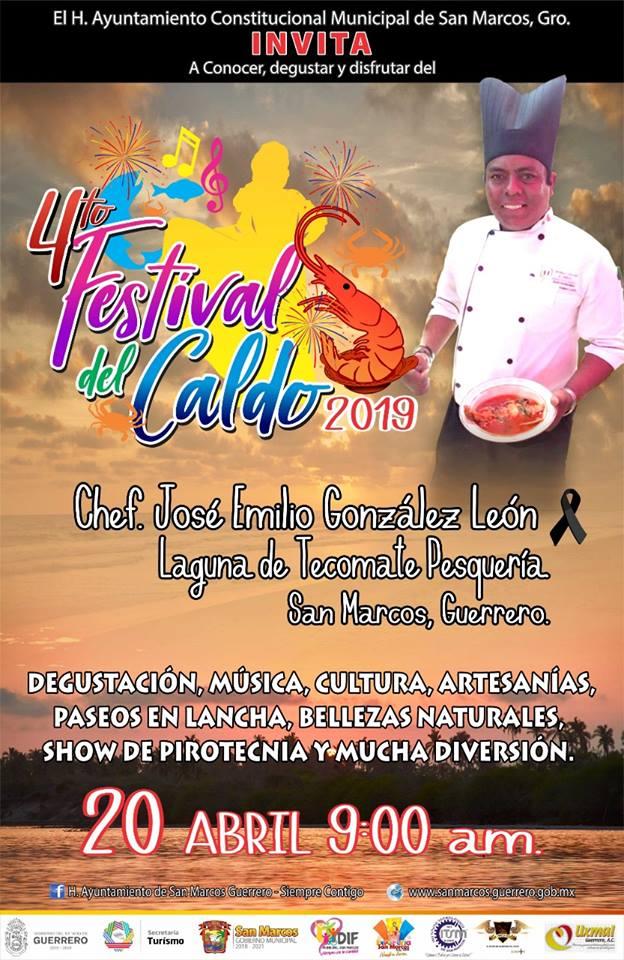 Asiste al Festival del Caldo en Tecomate Pesquería
