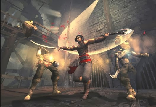 Gameplay Prince of Persia: Warrior Within