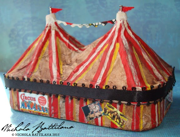 Wicked Circus Altered Altoid Tin - Nichola Battilana