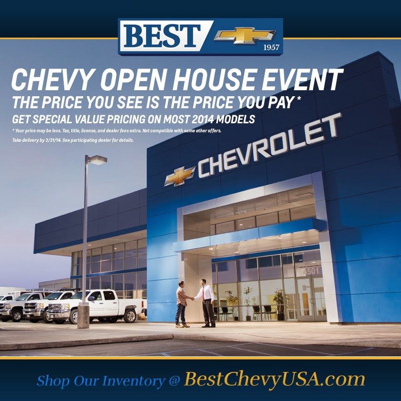 Don't Miss the Chevy Open House Event