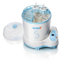 steam sterilizer for baby bottles (nakibu.com)