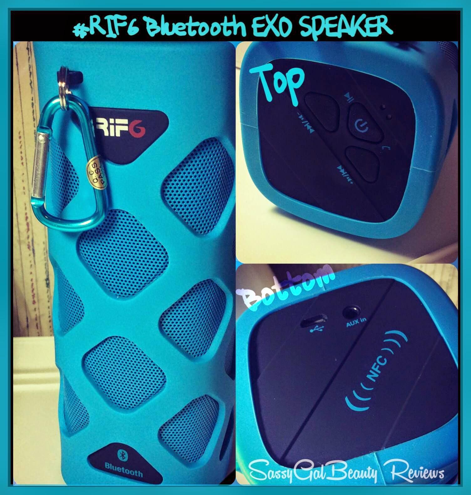 RIF6 Bluetooth EXO Speaker