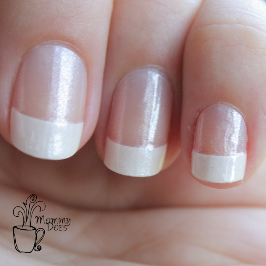 Mommy Does Her Nails: Incoco French Manicure review