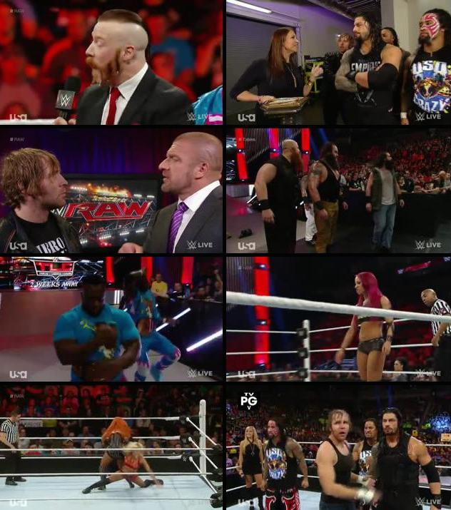 WWE Monday Night Raw 30 Nov 2015 HDTV 480p
