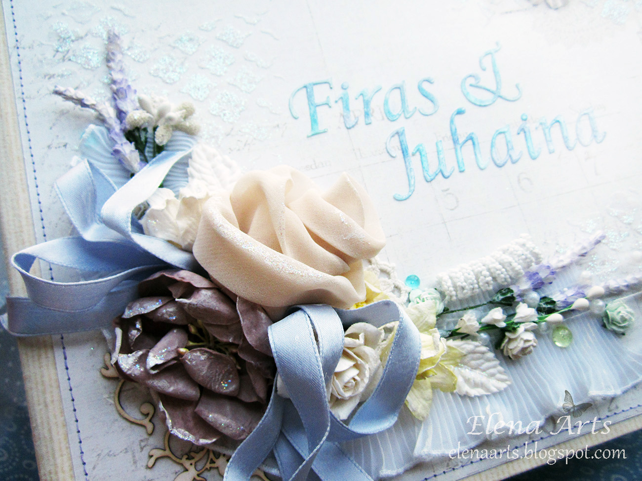 a sprinkle of imagination: A fairy tail - III. Finish the wedding ...