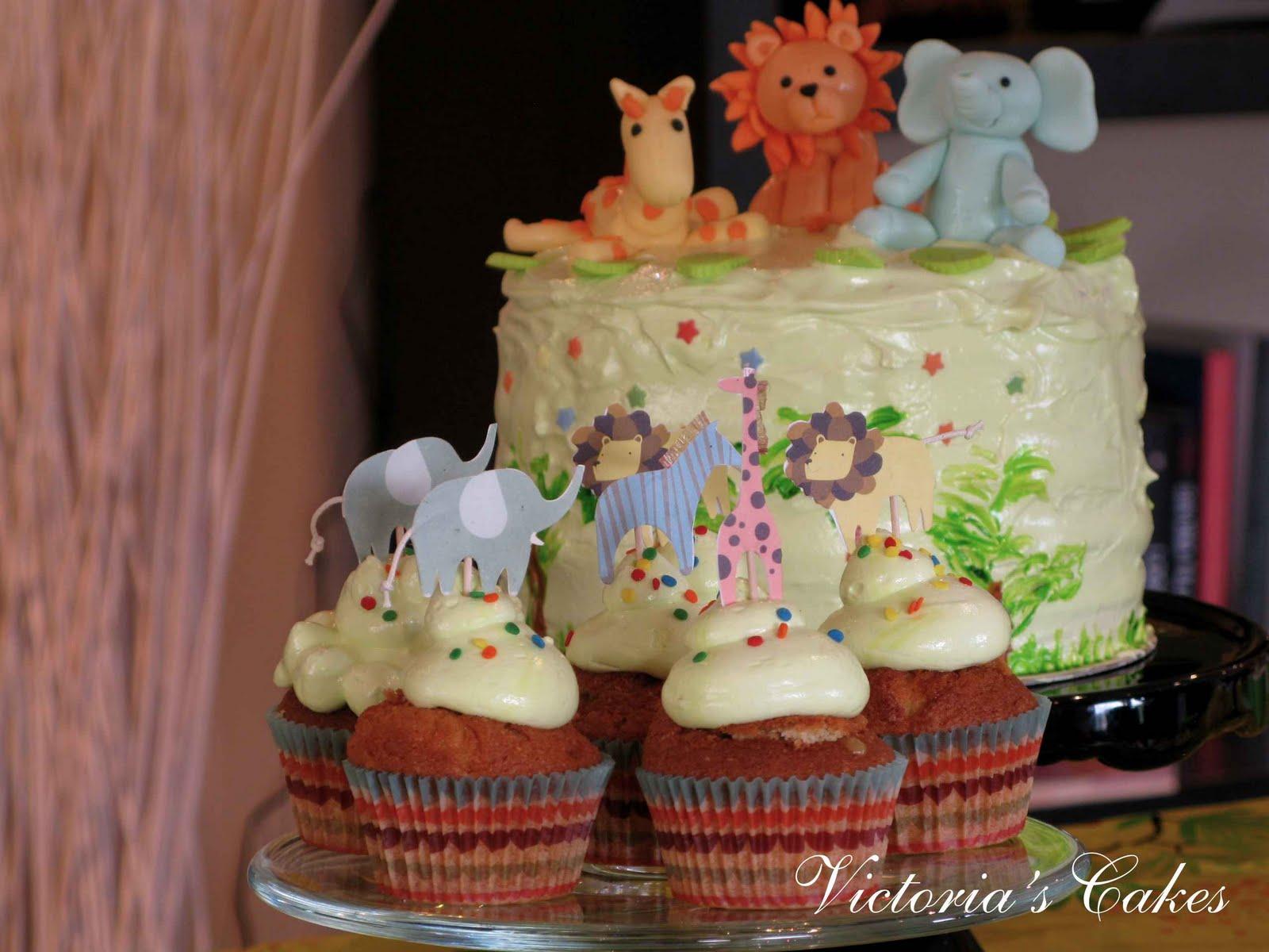 Victoria's Cakes: Fiesta de cumpleaños de animales en la Selva!!!