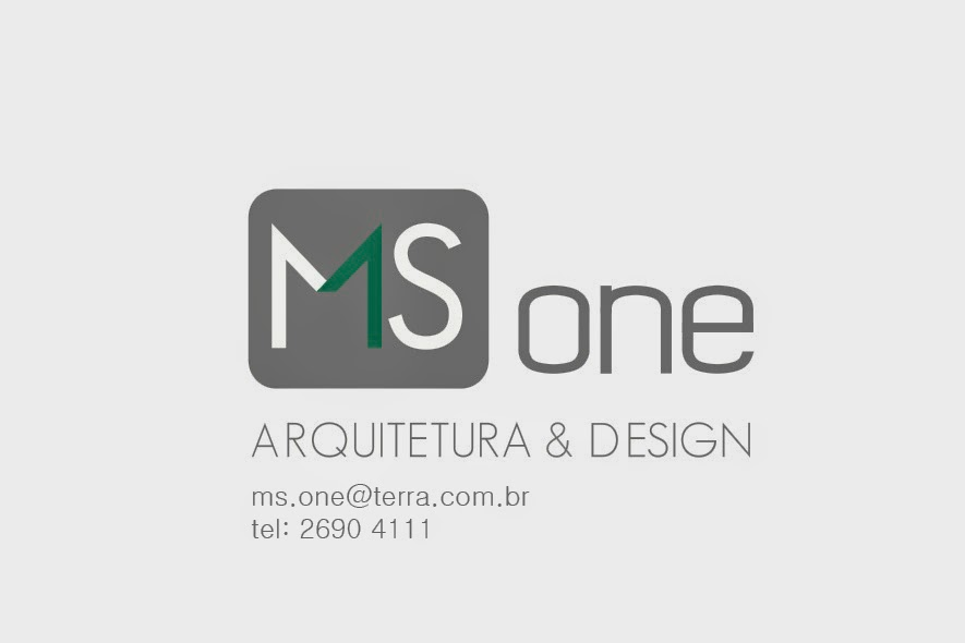 MS ONE ARQUITETURA & DESIGN