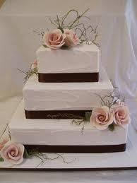Wedding Cakes: Square Wedding Cakes Photos | Square Weddings Cakes Ideas