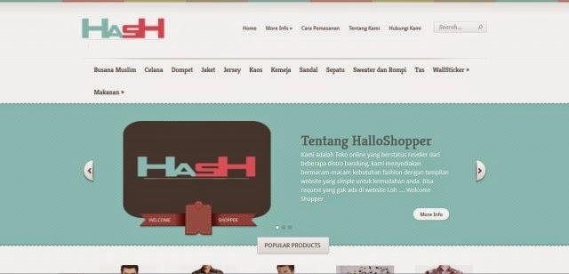Halloshopper.com Toko Online Fashion Terpercaya