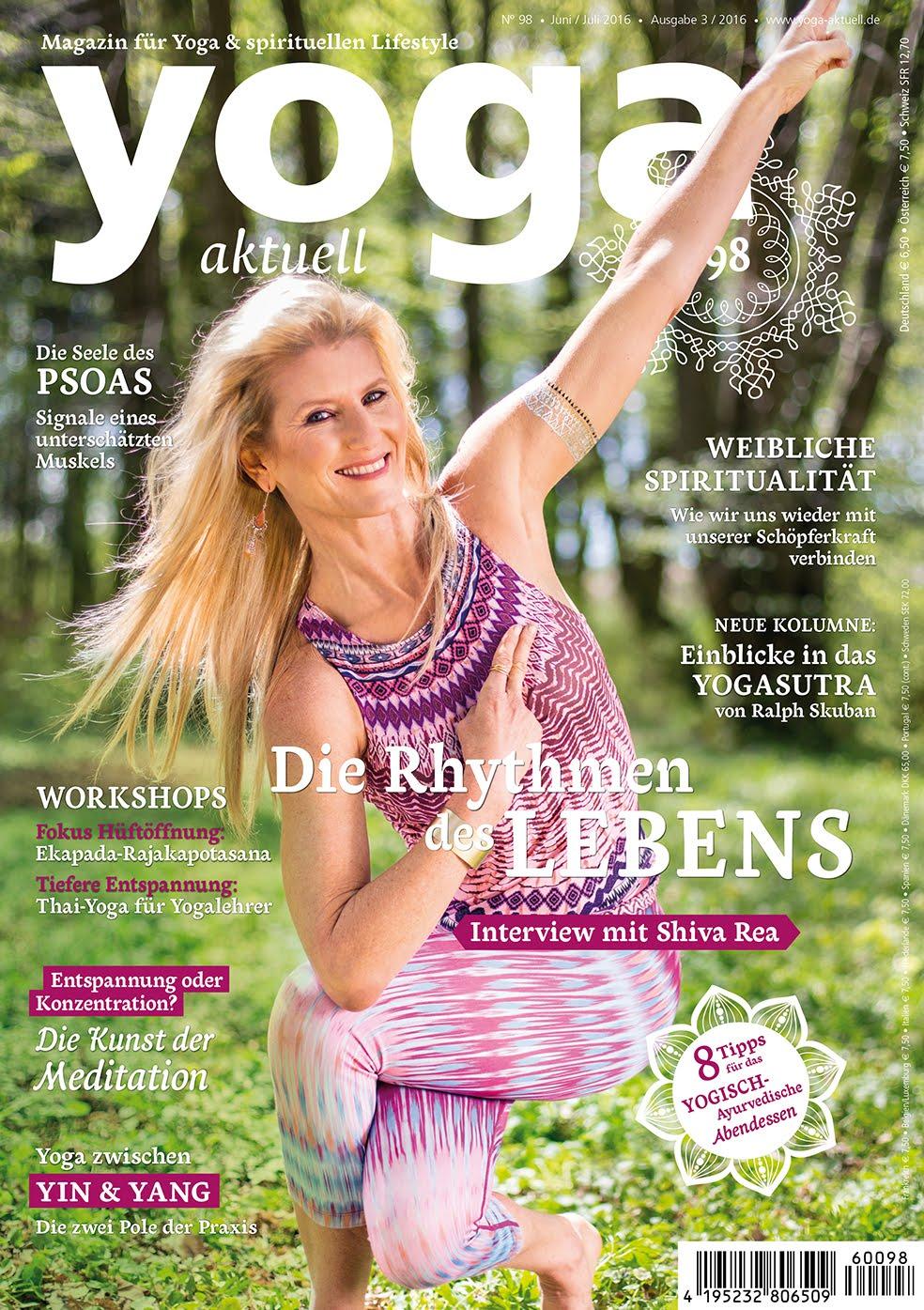 Die Seele das Psoas<br>Yoga Aktuell 98
