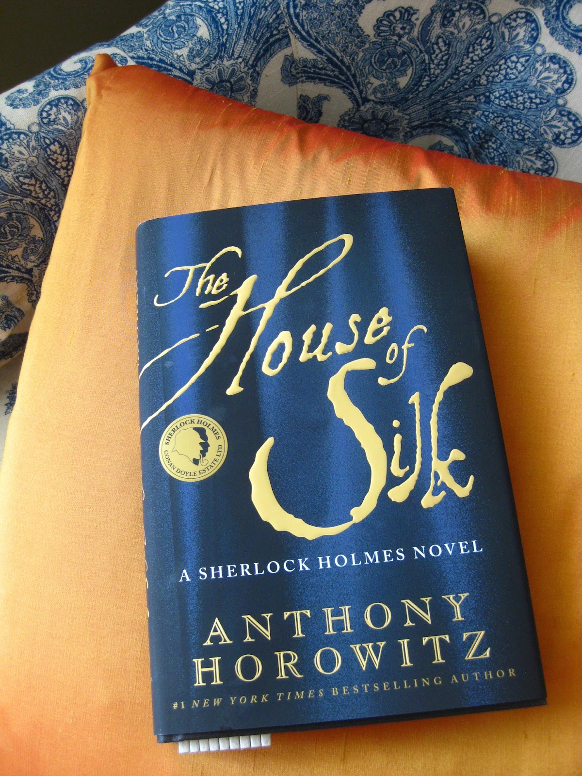 PDF The House of Silk by Anthony Horowitz Book Free Download (294 pages)