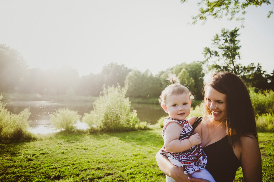 Mommy and me session by indianapolis natural light photographer.