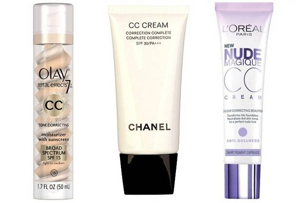 CC cream Olay, Chanel e Loreal