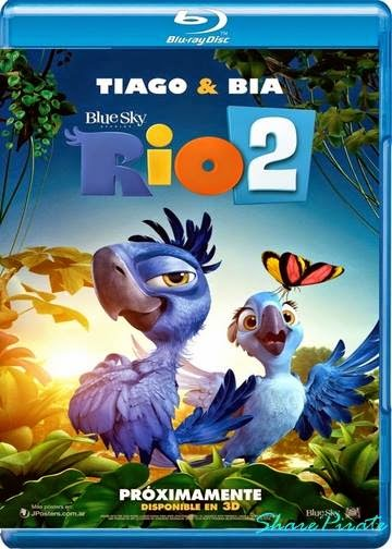 Rio 2 2014 Hindi Dubbed Dual BRRip 480p 300mb ESub