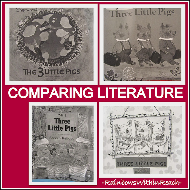 photo of: Three Little Pigs: Comparing Literature by Author Interpretations
