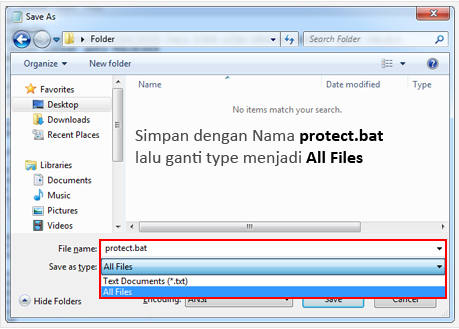 Cara Memberi Password pada Folder Di Windows