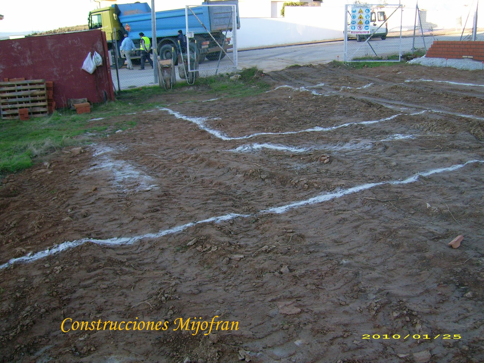 Construcciones mijofran s l proceso construcci n for Construccion de casas paso a paso