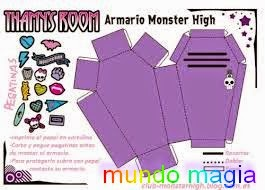Manualidad Ataud Monster High