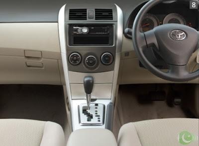 Toyota Corolla 2012 Interior