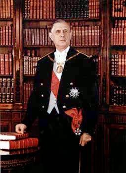 Charles de Gaulle, 6 ft 5