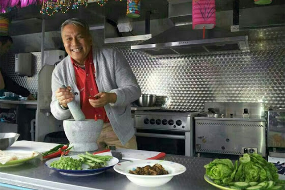 Malaysia, Hiburan, Artis Malaysia, Selebriti, Chef Malaysia, Dato Chef Wan, Muncul, Dalam, Program, Fox TV, East Bites West,