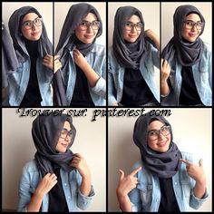 Tutoriels Hijab Pour Lunette