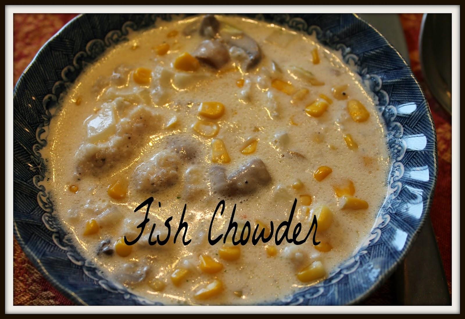 Healthy simplicity fish chowder for Healthy fish chowder
