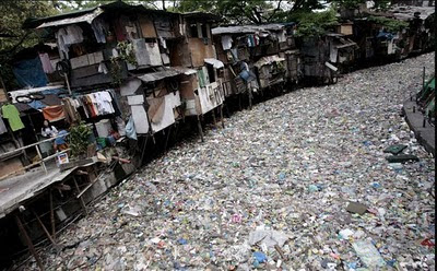 plastic flood in philippines