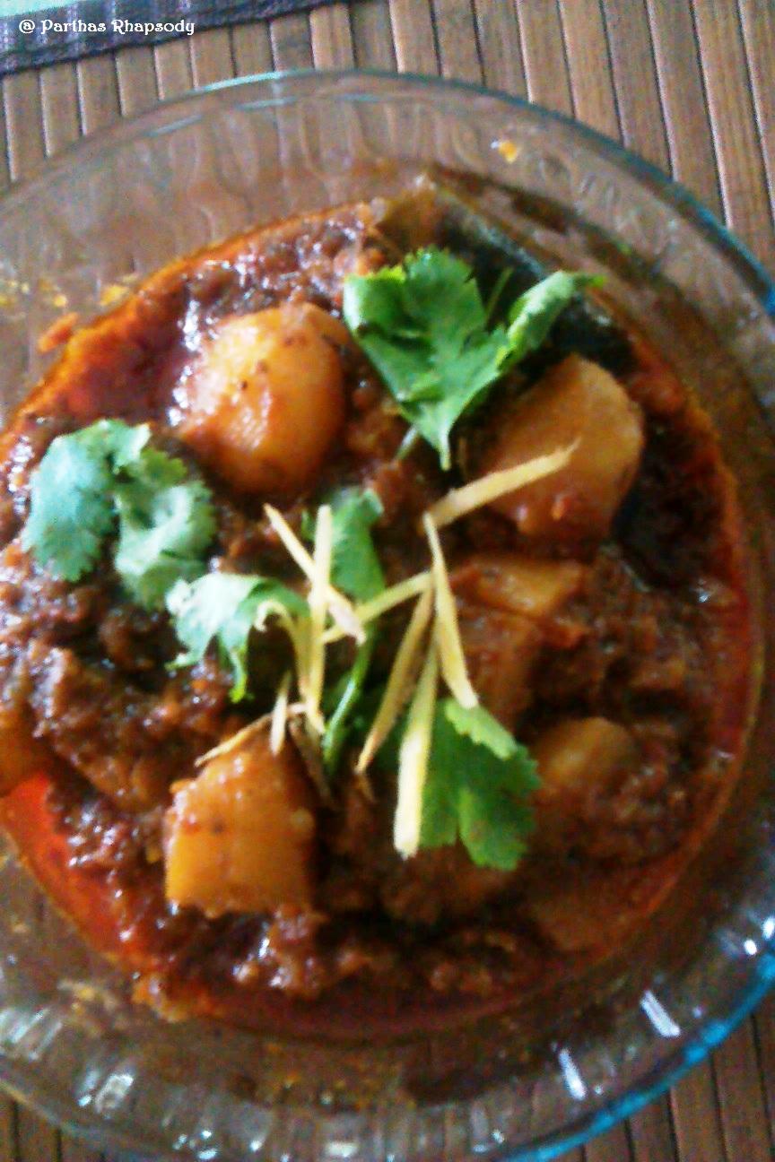 Partha 39 s rhapsody amritsari dum aloo for Amritsari cuisine