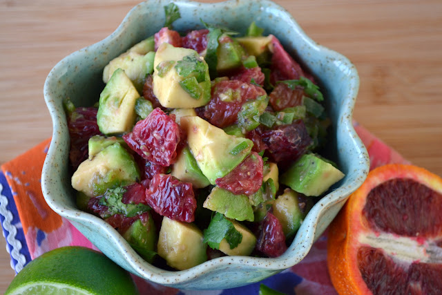 Blood Orange and Avocado Salsa recipe