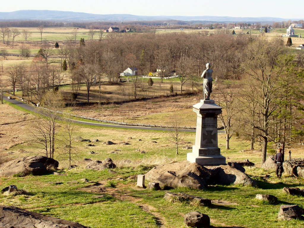a history of gettysburg Civil war trust recently interviewed james hessler, author of sickles at gettysburg: the controversial civil war general who committed murder, abandoned little round top, and declared himself the hero of gettysburg about his new book and sickles' battlefield preservation efforts.