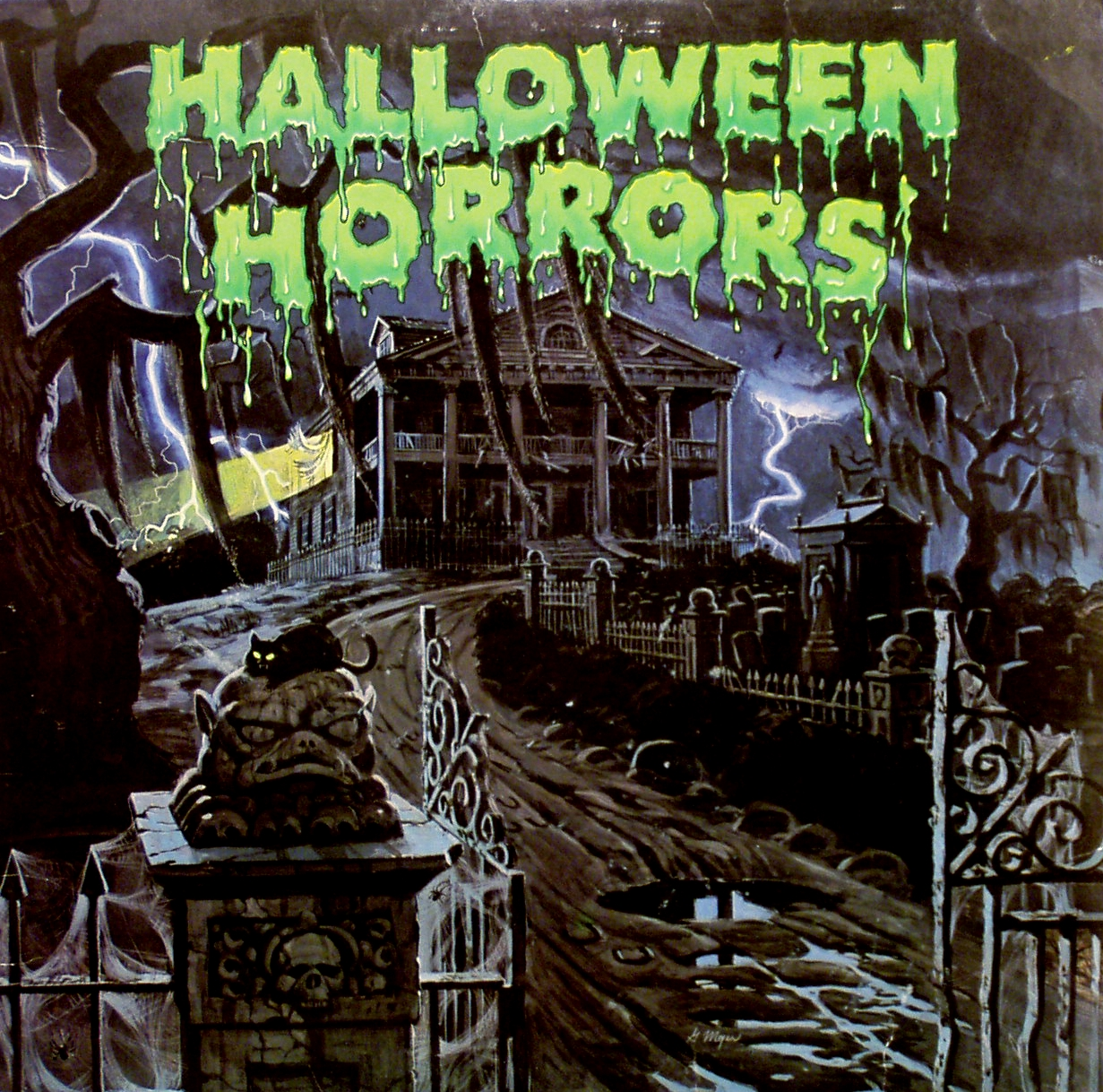 Old school halloween records blood curdling blog of for Classic house albums