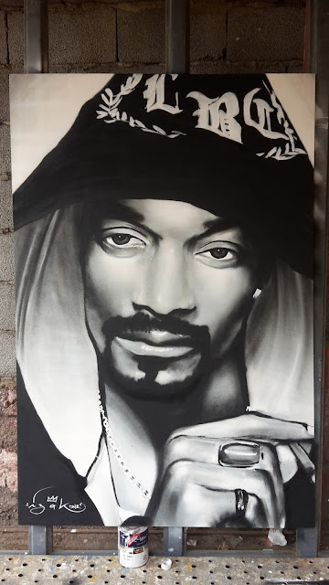 snoop dogg, izakone, graffiti, canvas, street art, chilean, art, urban art, izak