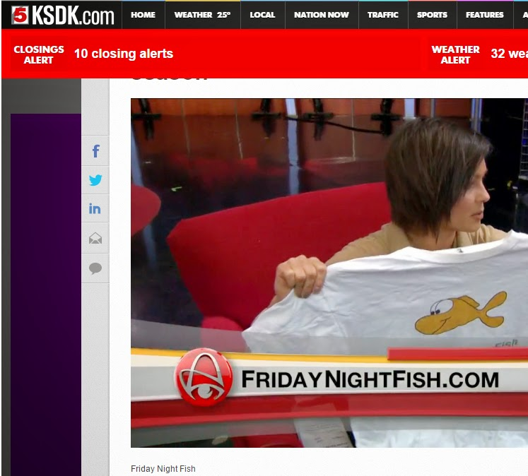 Friday Night Fish on KSDK 'Show Me St. Louis'