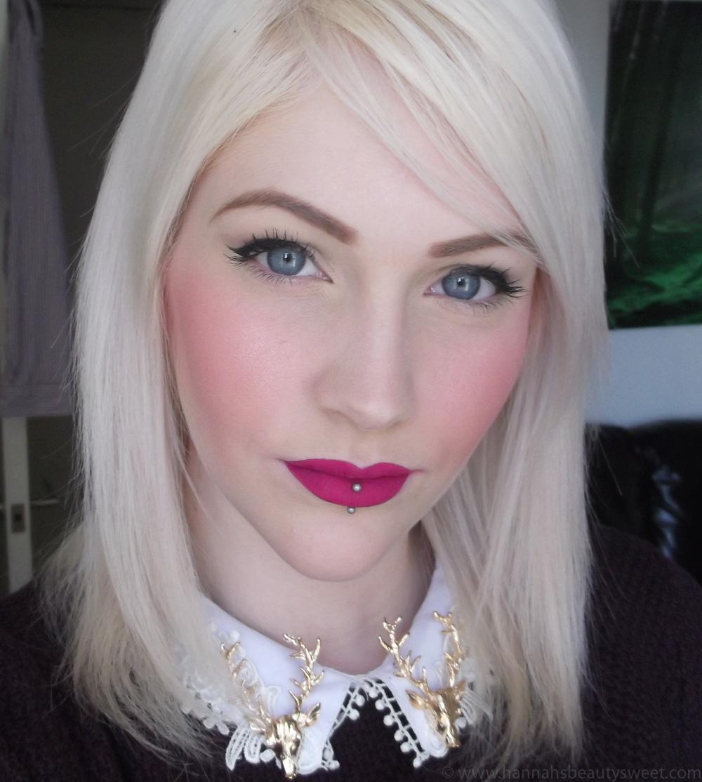 Sleek Matte Me Lipsticks, purple lipstick, matte purple lips