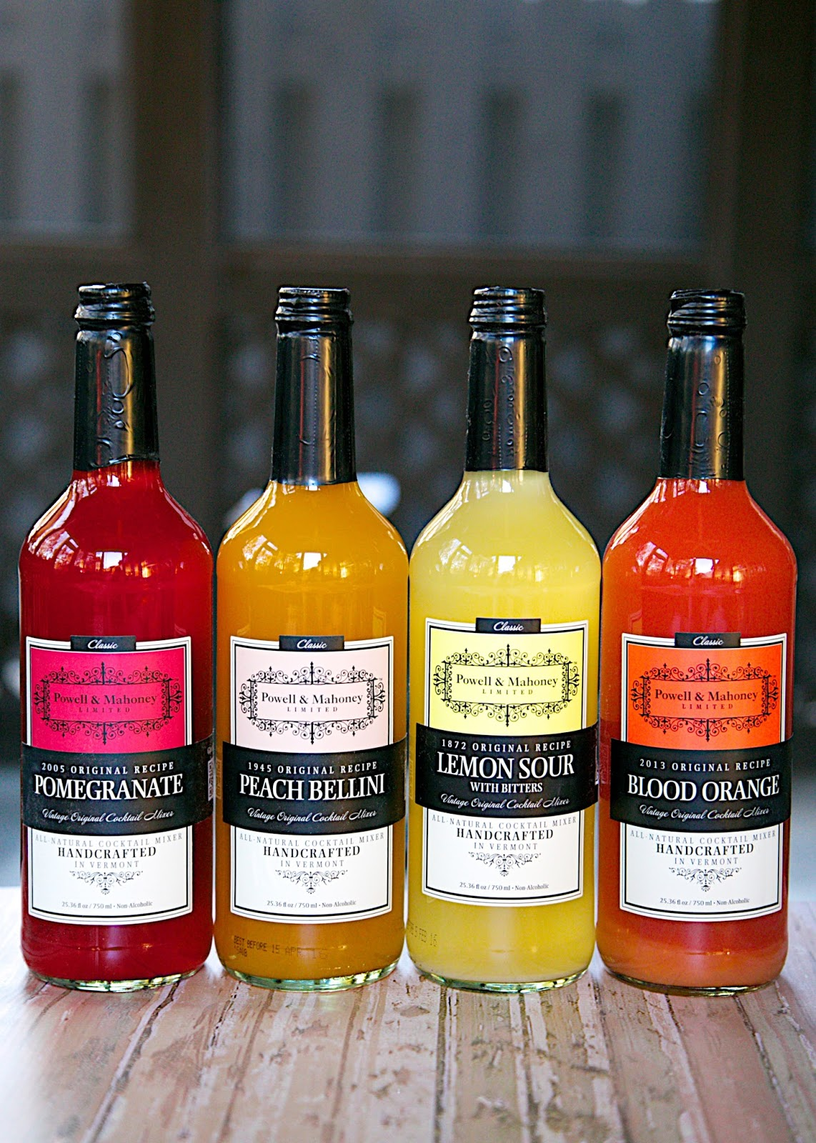 Powell & Mahoney mixers - great hostess gift!
