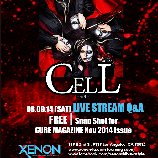 XENON In-Store Event:  CELL Livestream Q&A from Japan