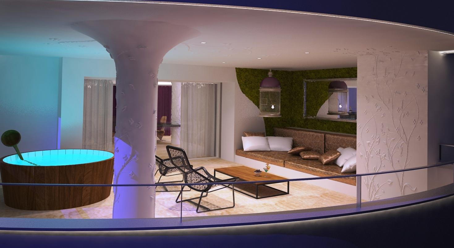 Hoteles de lujo en Ibiza: The Ushuaïa Tower Hoteltotal.com
