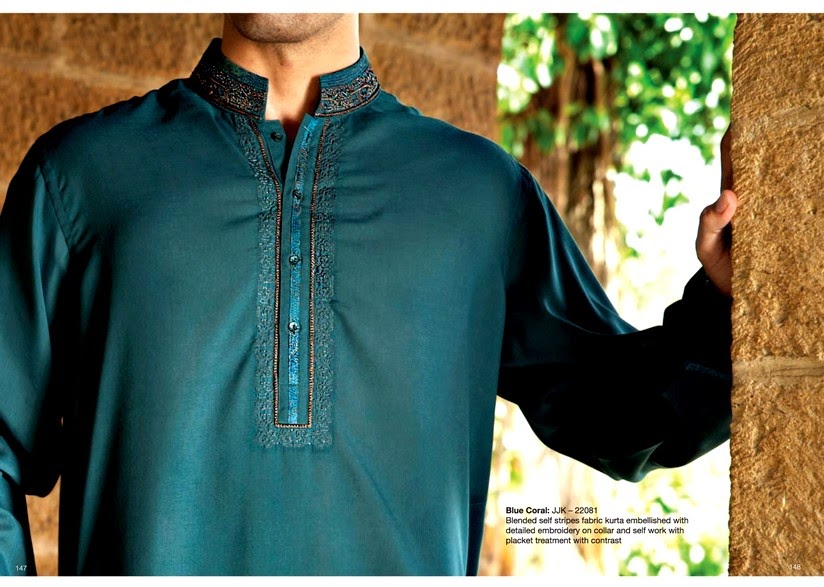 Men's Salwar Kameez for Eid by Junaid Jamshed
