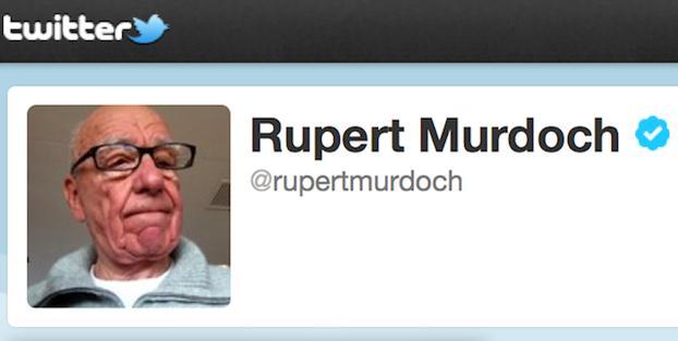 Bir zamanlar internet için pornocuların, hırsızların ve hackerların evi diyen Medya Baronu Rupert Murdoch twitter hesabı açtı