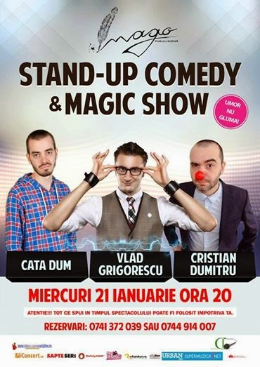 Stand-Up Comedy & Magic Show