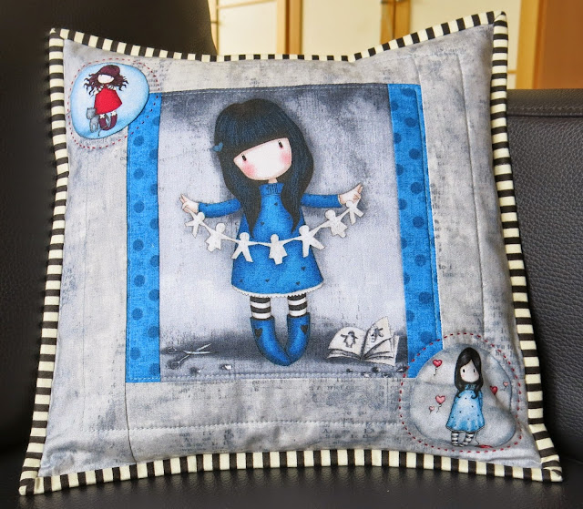 """Simply Gorjuss"" collection by Santoro - Cushion"